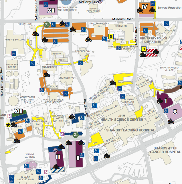 Uf Campus Map Mandegar Info