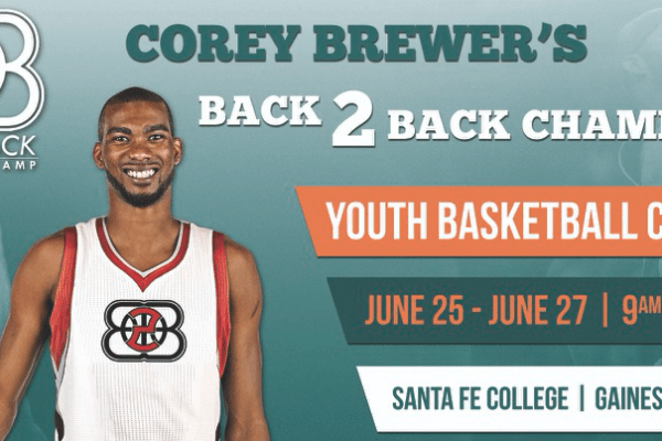 Corey Brewer Basketball Camp 2018 Flyer