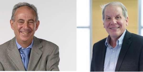 Headshot of Drs. Schatz and Atkinson