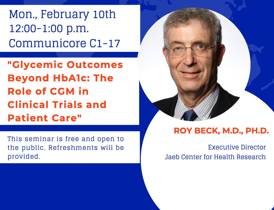Roy Beck Seminar Announcement